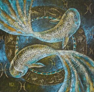 paveikslai internetu Zodiac Pisces (2015)