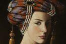 Kokybiskos reprodukcijos Lady with a turban (2013)
