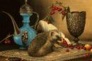 Kokybiskos reprodukcijos Nature-morte with hedgehog (2013)