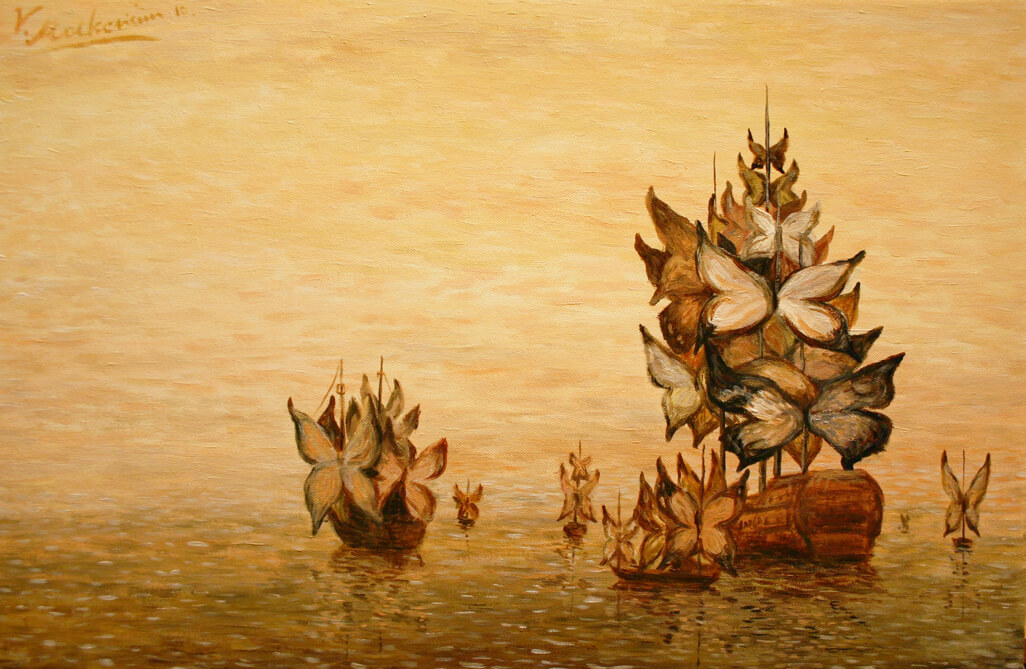 [R] Floating butterflies