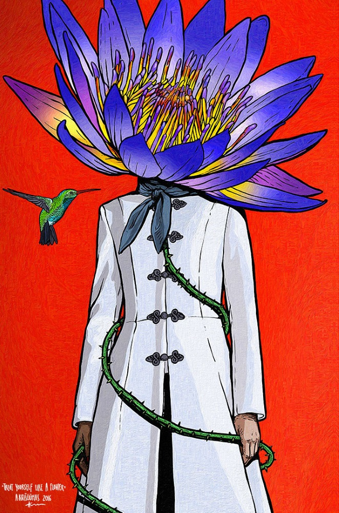[R] Treat Yourself Like a Flower