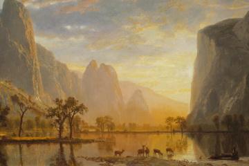 [K] Valley of the Yosemite