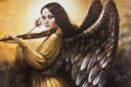 [R] Angel with violin