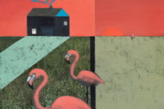 [R] Sunset at Pink Flamingo Villa (2020)