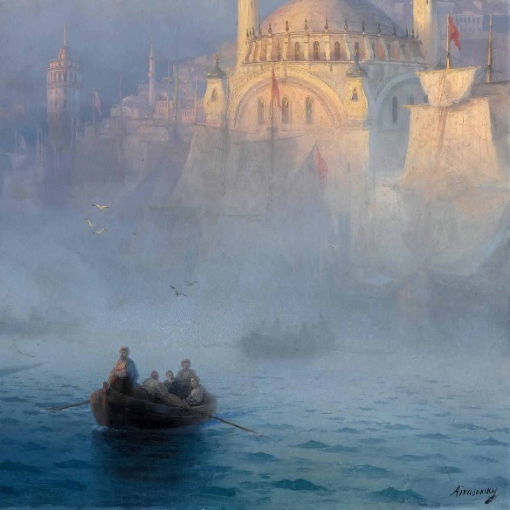 interjero detale Ivan Aivazovsky - Constantinople I